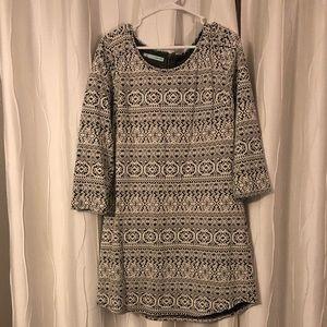 Maurice's Jaquard style dress